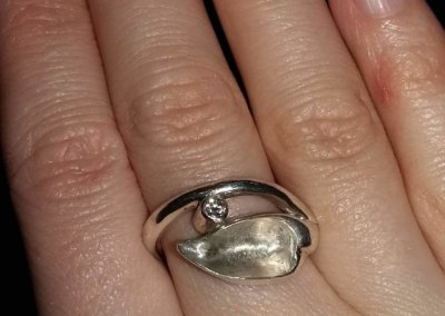 13.Wearing finished ring