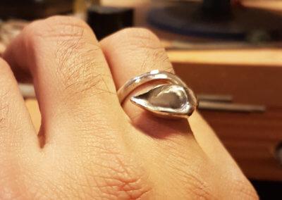 9.polished ring